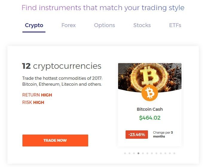 IQ Option Cryptocurrency Trading