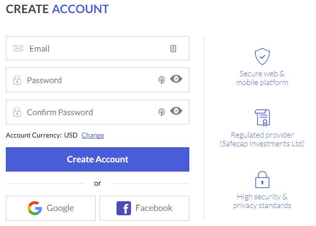 Open an Account